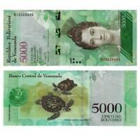 Pick New Venezuela 5000 Bolivares 2017  Unc. / 275268vvv