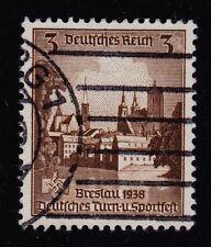GERMANY   SCOTT# 486   USED   CATHEDRAL ISLAND, BRESLAU