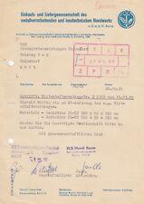 Bornas, carta 1990, compra-liefergenossenschaft del metalur