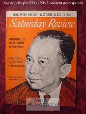 Saturday Review April 23 1955 CARLOS ROMULO SEMIN KONI KEITH MUNRO
