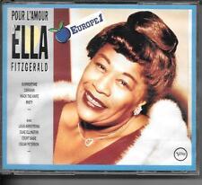 COFFRET 2 CD COMPIL 32 TITRES--ELLA FITZGERALD--POUR L'AMOUR D'ELLA...