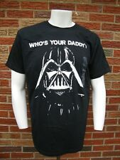 STAR WARS DARTH VADER NEW W/TAGS WHO'S YOUR DADDY? MEN'S  T-Shirt Sz L