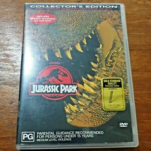Jurassic Park Collector's Edition DVD R4 – FREE POST