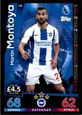 Match Attax 2018/19 EXTRA - Brighton Martin Montoya (Update Card) No.U8