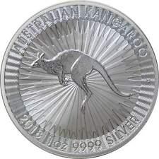 2018 Australian Kangaroo $1 BU Brilliant Uncirculated 1 oz .9999 Silver Coin