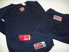 Chicago Fire Department Rawlings Navy Mesh Pullover Jersey