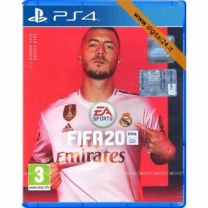 GIOCO FIFA 20 PS4 PLAYSTATION 4 ITALIANO CD NUOVO ORIGINALE SIGILLATO