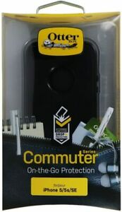 OtterBox 77-21912 COMMUTER Series Case for iPhone 5, 5S and SE - Black