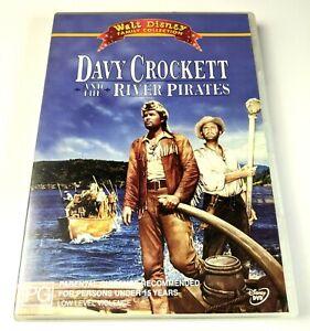Davy Crockett And The River Pirates - Genuine Region 4 DVD Walt Disney