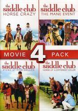 The Saddle Club Movie 4 Pack New Region 1 DVD
