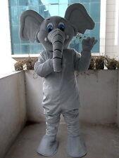 Elephant Adult Size  new  Cartoon Mascot Costume Fancy Dress custom-made