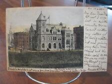 """1906 """"Government Building - Binghamton, N.Y."""" Postcard"""