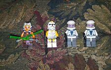 LEGO Star Wars 75013 MINIFIGS ONLY Ahsoka Tano 212th Trooper Umbaran Soldier