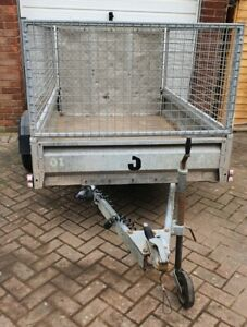 Indespension 6.6ft By 4ft Cage Trailer Single Axle