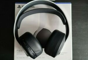 Sony Pulse 3D Wireless Gaming Headset PS5 - White/Black [Excellent Condition]