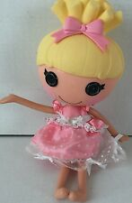 """Lalaloopsy Cinder Slippers Full Size 13"""" Doll Yellow Hair Pink Dress"""