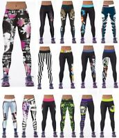 813e51c50be03 3D Graphic Colourful Printed Women Crazy Leggings Pants Trousers Yoga  Sports Hot