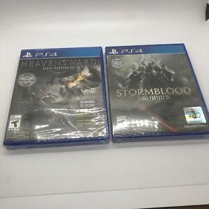 Heavensward Final Fantasy XIV PlayStation 4 PS4 Stormblood FF Online Brand New