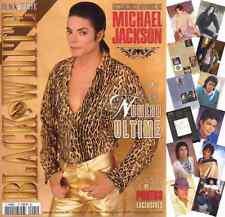 Michael Jackson Black & White Last Issue French FR Magazine 2009