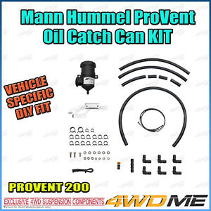 Isuzu DMAX 2020 2021 on 4JJ3TCX FACELIFT PROVENT OIL CATCH CAN MANN Filter Kit