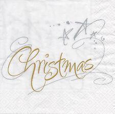 4 lose Servietten Motivservietten Serviettentechnik Weihnachten Christmas (1231)