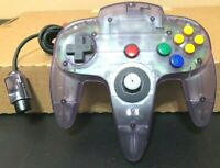 Official Nintendo 64 N64 Atomic Purple Controller - NUS-005 - Tight Stick Tested
