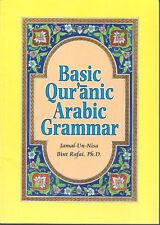 Basic Qur'anic ARABIC Grammar by Jamal-un-Nia Rafai pbk Islam language study