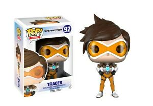 Funko Pop! Games: Overwatch Action Figure - Tracerby FunKo