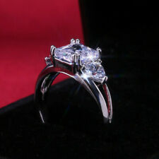 Wedding Rings For Women Size 7 Fashion Cubic Zirconia Ring Jewelry 925 Silver