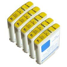 5 Tinte HP 940XL gelb für Officejet Pro 8000 Wireless Enterprise 8500A Plus