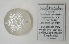 c SNOWFLAKE WISDOM stone be one of a kind leave sparkle along the way Frozen