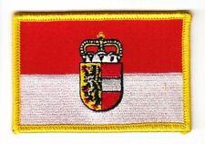 Aufnäher Österreich - Salzburg Patch Flagge Fahne