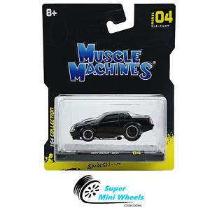 Maisto 1:64 Muscle Machines - 1987 Buick GNX (Black)