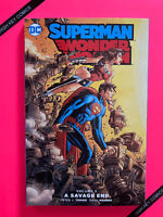 Superman Wonder Woman Vol 5 A Savage End TPB DC 2017 NM