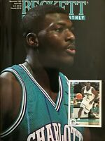 1992 Beckett Basketball Magazine #29 - LARRY JOHNSON