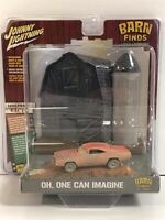 Johnny Lightning Barn Finds 1969 DODGE CHARGER 1/64 General Lee Dukes Of Hazzard