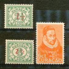 Curaçao 101 - 103 postfris