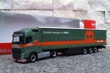 """Herpa  309288  Volvo FH GL Gardinenplanen-Sattelzug """"Max Wild""""  1:87"""