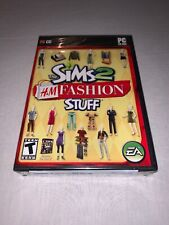 The Sims 2 H&M Fashion Stuff PC-BRAND NEW & FACTORY SEALED!