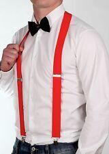 Wide High Quality Suspenders Braces 26 Designs Fancy Dress Mens Womens Stylex