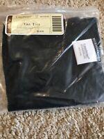 Longaberger Black Solid Tiny Tote Basket Liner #20715163 - NEW
