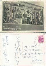 LA REDENZIONE DI TRENTO, 3 NOVEMBRE 1918 - AFFRESCHI ALLEGORICI  (rif.fg.7132)