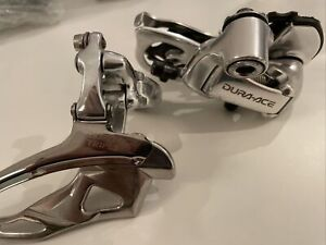 Shimano Dura Ace RD-7700 9 Speed Rear Derailleur And Front 31.8