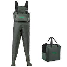 Cormoran -  Nylon/PVC Wathose mit Brusttasche
