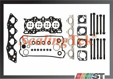 Fit 97-01 Honda CR-V B20B4 B20Z2 Engine MLS Cylinder Head Gasket Set with Bolts