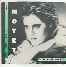ALISON MOYET 45 RPM Promo Record w/ Picture Sleeve  FOR YOU ONLY  Unplayed MINT!