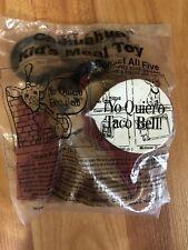 Vintage Taco Bell Dog Yo Quiero Coin Purse Keychain