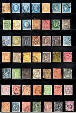 France Selection of All Different Older Stamps