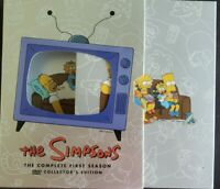 Season 1 The Simpsons 3-Disc Collector's Edition (2001 DVD) Complete VGC
