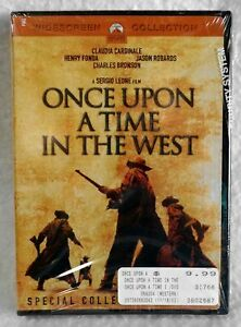 New Vin 1969 Once Upon a Time in the West 2-Disc DVD Widescreen Factory Sealed